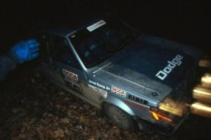 Jason Anderson / Jared Kemp in their Dodge Omni ran the Divisional rally held in conjunction with LSPR.