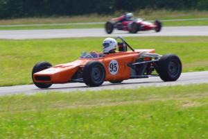 Rich Stadther's Dulon LD9 Formula Ford and Paul Bastyr's McNamara Formula Vee
