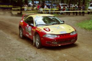 Tom Lawless / Sean Devine Eagle Talon on SS2, Asaph Run.